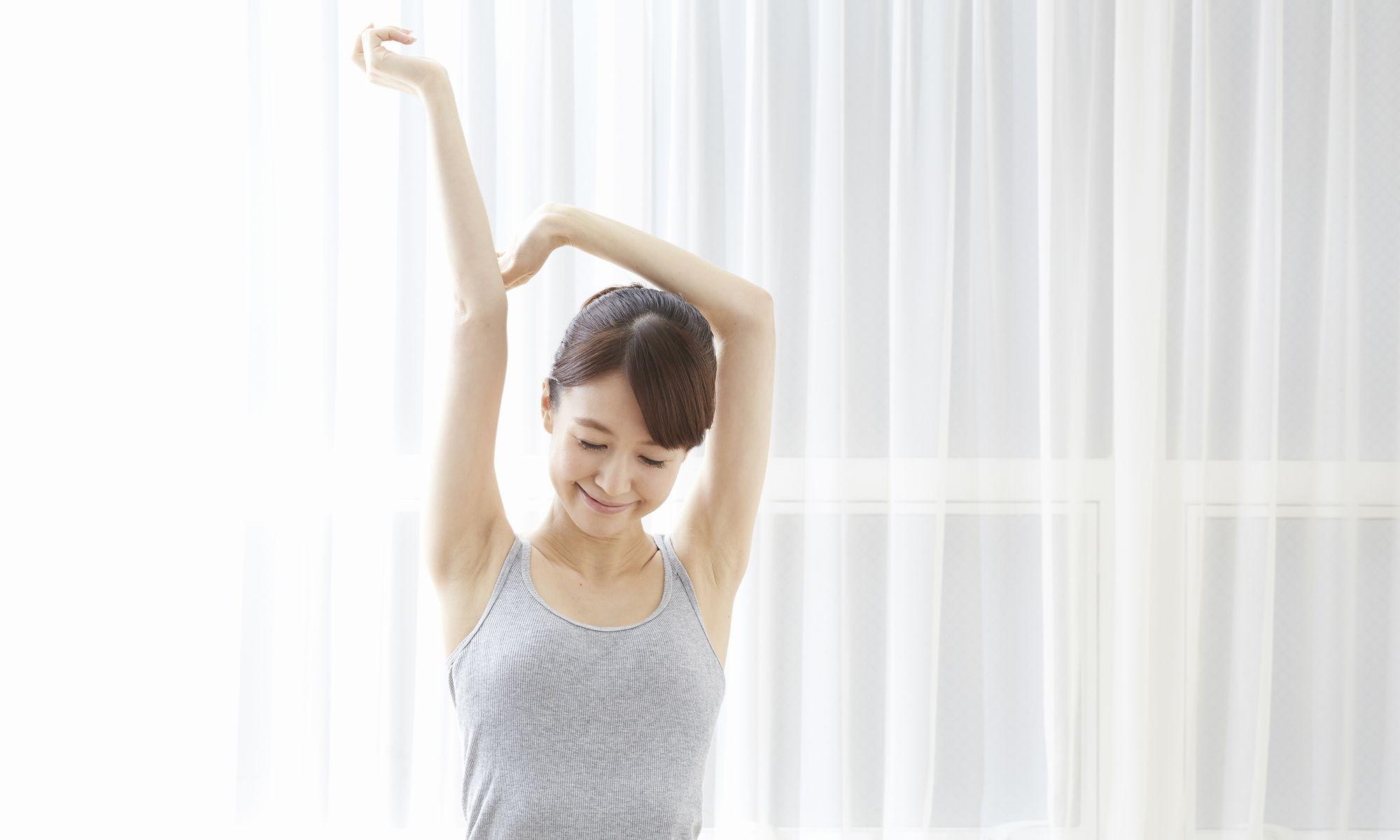 背伸びで くびれ!運動嫌いのための簡単健康体操